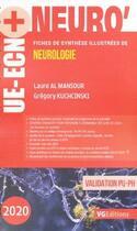 Couverture du livre « Ue ecn + neurologie ed 2020 » de Al Mansour aux éditions Vernazobres Grego