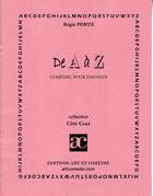 Couverture du livre « De A à Z » de Regis Porte aux éditions Art Et Comedie