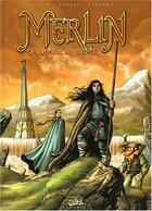 Couverture du livre « Merlin - la quête de l'épée T.1 ; prophétie » de Jean-Luc Istin et Nicolas Demare et Sandrine Cordurie aux éditions Soleil