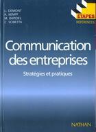 Couverture du livre « Communication Des Entreprises » de Demont et Kempf et Rapidel et Scibetta aux éditions Nathan