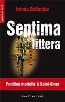 Couverture du livre « Septima littera » de Irenee Deltombe aux éditions Ravet-anceau