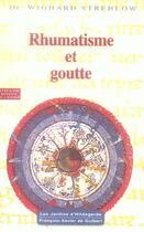 Couverture du livre « Rhumatisme et goutte - hildegarde de bingen. le programme de sante » de Wighard Strehlow aux éditions Francois-xavier De Guibert