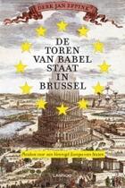 Couverture du livre « De toren van Babel staat in Brussel » de Derk-Jan Eppink aux éditions Uitgeverij Lannoo
