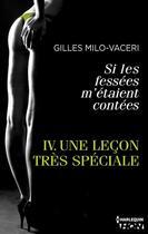 Couverture du livre « Une leçon très spéciale » de Gilles Milo-Vaceri aux éditions Hqn