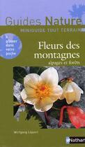 Couverture du livre « Fleurs des montagnes » de Wolfgang Lippert aux éditions Nathan