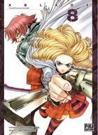 Couverture du livre « X blade t.8 » de Tatsuhiko Ida et Satoshi Shiki aux éditions Pika