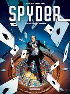 Couverture du livre « Spyder t.4 ; chasse à l'homme » de Sebastien Latour et Patrick Tandiang et Pierre Schelle aux éditions Delcourt