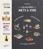Couverture du livre « Les accords mets et vin » de Olivier Bompas aux éditions Hachette Pratique