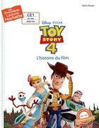 Couverture du livre « Mes premières lectures ; pl (ce1) Disney 3 : Toy Story 4 » de Agnes Berger aux éditions Hachette Enfants