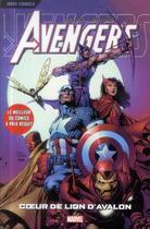 Couverture du livre « Avengers T.4 ; Coeur de Lion d'Avalon » de Olivier Coipel et Geoff Johns et Chuck Austen aux éditions Panini