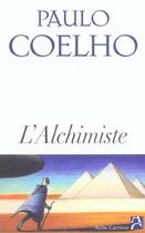 Couverture du livre « L'Alchimiste » de Paulo Coelho aux éditions Anne Carriere