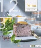 Couverture du livre « Terrines » de Marie Massiet Du Biest aux éditions Saep