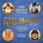 Couverture du livre « Une anthologie du Disque-monde t.1 ; les archives d'Ankh Morpork » de Terry Pratchett et Paul Kidby aux éditions L'atalante