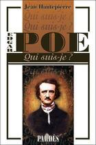 Couverture du livre « Edgar Poe » de Jean Hautepierre aux éditions Pardes