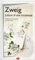 Couverture du livre « Lettre d'une inconnue » de Stefan Zweig aux éditions Flammarion