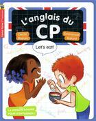 Couverture du livre « L'anglais du CP ; let's eat » de Emmanuel Ristord et Cecile Bajram aux éditions Pere Castor