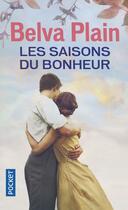 Couverture du livre « Les saisons du bonheur » de Belva Plain aux éditions Pocket