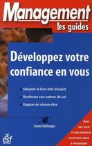 Couverture du livre « Développez votre confiance en vous » de Bellenger L aux éditions Esf Prisma