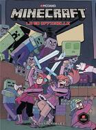 Couverture du livre « Minecraft ; la bd officielle : les Withérables » de Kristen Gudsnuk aux éditions Panini