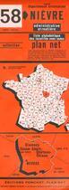 Couverture du livre « Departement n 58 » de Collectif aux éditions Ponchet-plan Net