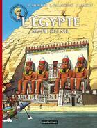 Couverture du livre « Les voyages d'Alix T.1 ; l'Egypte au fil du Nil » de Martin J. et R. Morales et L Palmisano aux éditions Casterman