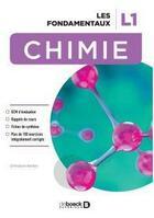 Couverture du livre « Chimie les fondamentaux L1 » de Christian Bellec aux éditions De Boeck Superieur