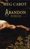 Couverture du livre « Abandon t.1 » de Meg Cabot aux éditions Black Moon