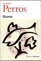 Couverture du livre « Oeuvres » de Georges Perros aux éditions Gallimard