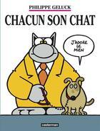 Couverture du livre « Le Chat T.21 ; chacun son chat » de Philippe Geluck aux éditions Casterman