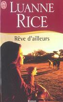 Couverture du livre « Reve d'ailleurs » de Luanne Rice aux éditions J'ai Lu