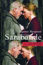 Couverture du livre « Sarabande » de Ingmar Bergmann aux éditions Cahiers Du Cinema