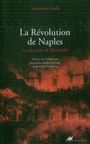 Couverture du livre « La révolution de Naples » de Alessandro Giraffi aux éditions Anacharsis