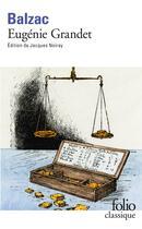 Couverture du livre « Eugénie Grandet » de Honoré De Balzac aux éditions Gallimard