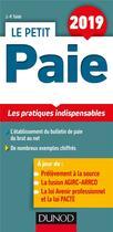 Couverture du livre « Le petit paie ; les pratiques indispensables (édition 2019) » de Jean-Pierre Taieb aux éditions Dunod