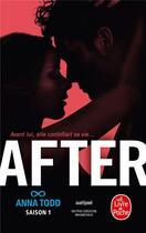 Couverture du livre « After ; saison 1 » de Anna Todd aux éditions Lgf