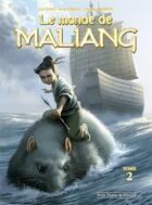 Couverture du livre « Le monde de Maliang T.2 ; la flûte » de Liu Yang et Fuat Erkol et Christian Simon aux éditions Clair De Lune