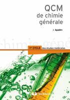 Couverture du livre « QCM de chimie générale » de  aux éditions De Boeck Superieur