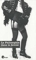 Couverture du livre « La philosophie dans le devoir » de Otto aux éditions Tabou