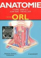 Couverture du livre « ATLAS DE POCHE ; anatomie t.3 ; ORL (3e édition) » de Bonfils aux éditions Medecine Sciences Publications