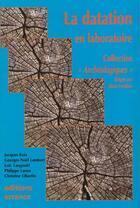 Couverture du livre « Les Methodes De Datation » de Collectif aux éditions Errance