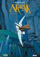 Couverture du livre « Arzak, l'arpenteur » de Moebius aux éditions Moebius Production
