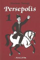 Couverture du livre « Persépolis t.1 » de Marjane Satrapi aux éditions L'association