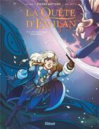 Couverture du livre « La quête d'Ewilan T.4 ; les plateaux d'Astrariul » de Lylian et Laurence Baldetti aux éditions Glenat