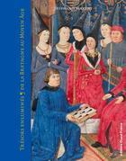 Couverture du livre « Trésors enluminés de la Bretagne au Moyen âge » de Stephanie Vincent aux éditions Ouest France