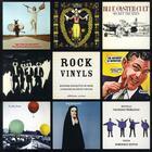 Couverture du livre « Vinyls rock » de Dominique Dupuis et Alain Dister aux éditions Ereme