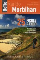 Couverture du livre « Boîte rando Morbihan » de Collectif aux éditions Ouest France
