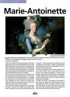 Couverture du livre « Marie Antoinette » de Collectif aux éditions Aedis