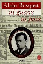 Couverture du livre « Ni Guerre Ni Paix » de Bosquet-A aux éditions Lgf