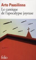 Couverture du livre « Le cantique de l'apocalypse joyeuse » de Arto Paasilinna aux éditions Gallimard