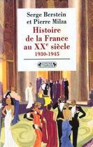 Couverture du livre « Histoire de la france xxeme siecle t2 » de Serge Berstein aux éditions Complexe